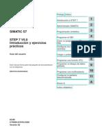 STEP 7 V5.0 Intro y Ejercicios Practicos
