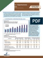 Evolucion de Las Exportaciones e Importaciones Diciembre 2014