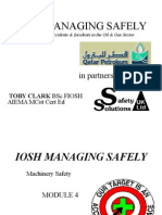 IOSH MSQP Machinery