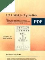 Arsitektur Byzantium & Romanika