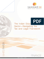 The Indian Education Sector—Navigating The Tax and Legal Framework