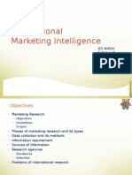 Ch-03 Market Intelligence Pricing Distri Int Mktg IES July2014 Ver1.0