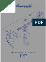 1997 Campagnolo Spare Parts Catalog
