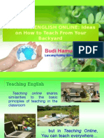 Paper Uin-Teaching English Online