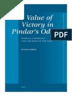 Boeke (2007)-The Value of Pindar's Odes