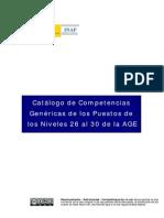 Informe Perfiles de Competencias INAP