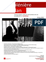 Compte-rendu de plénière - février 2015