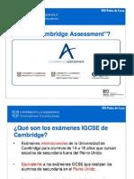 IGCSE Details for IES Pedro de Luna