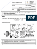 8th Grade- 1st and Second Competences Worksheet