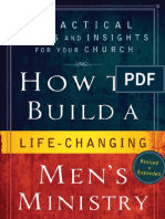 How to Build a Life Changing Men's Ministry