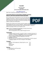 Syllabus For IntroductoryTamil - Dr. Richard Frasca - Harvard University