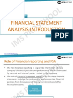 Unit 22_financial Statement Analysis Introduction_2013