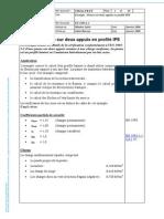 Calcul Panne IPE Maintenu Lateralement Par Bac Acier