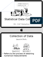 Biostat - BStat 102 Stat Data Collection