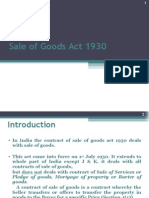 Copy of Law of Sales of Goods--- 1930