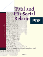 [Stanley E. Porter] Paul and His Social Relations