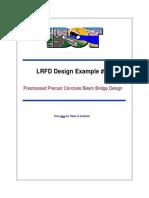 Precast Beam Bridge Example AASHTO