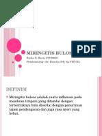 Miringitis Bulosa ppt