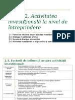 249362172 Activitatea Investitionala La Nivel de Intreprindere Conspecte Md