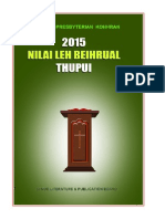 Nilai leh Beihrual Thupui 2015