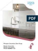 Pilkington Decorative Glass Range Brochure 12pp