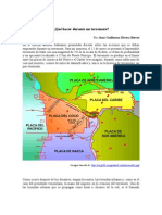 Rincón del riesgo ¿Qué hacer durante un terremoto?