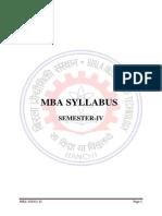 Syllabus 4th Sem Marketing + HR