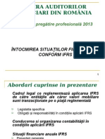 01curs IFRS 2013 Cafr Sit Financiare