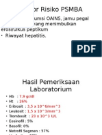 Faktor Risiko PSMBA