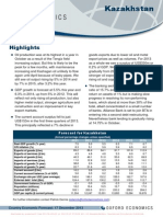 Country Economic Forecasts - Kazakhstan (1)