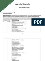 Plan Anual de Desarrollo Curricular PSICO-FILO