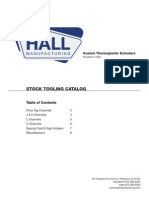 Custom Thermoplastic Extruders - Hall Manufacturing Corporation