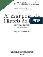 Vicente Licínio Cardoso - À Margem Do Segundo Reinado