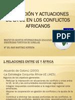 Presentacion Africa UE