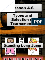 Types and Selection of Tournaments