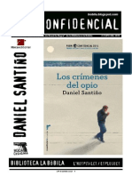 L'H Confidencial, especial 2015. Los crímenes del opio, de Daniel Santiño