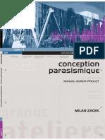 1. Conception Parasismique. Niveau Avant-Projet_ Milan ZACEK