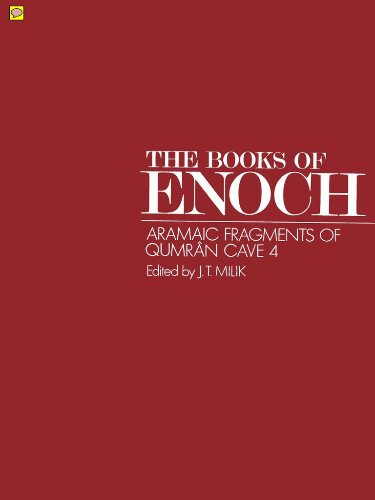 The Books of Enoch Aramaic Fragments of Qumran Cave 4 by J.T. Milik &  Matthew Black | Book Of Enoch | Religion And Belief