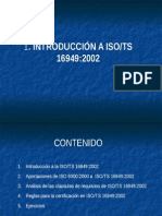Presentación ISO/TS 16949