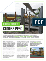 Timber Equipment and PEFC