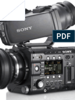 Sony F55 Manual