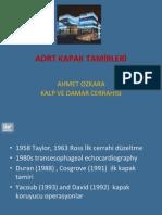 Aort Kapak Tamirleri - Ahmet Özkara