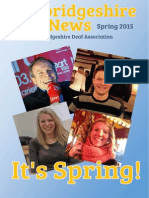 Cambridgeshire Deaf News Spring 2015