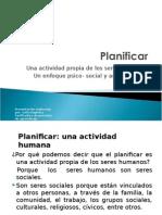 Planificar