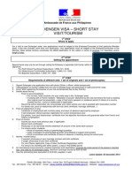 French Visa Requirements Tourist (2)