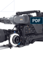 Sony PDW F800 user manual