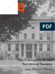 The University in the Service of Society