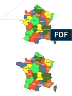 Les Régions Administratives FRANCE