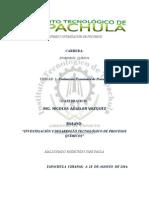 """""""Investigación y Desarrollo Tecnológico de Procesos Químicos"""""""