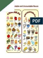 Food Countable ,Uncountable Nouns
